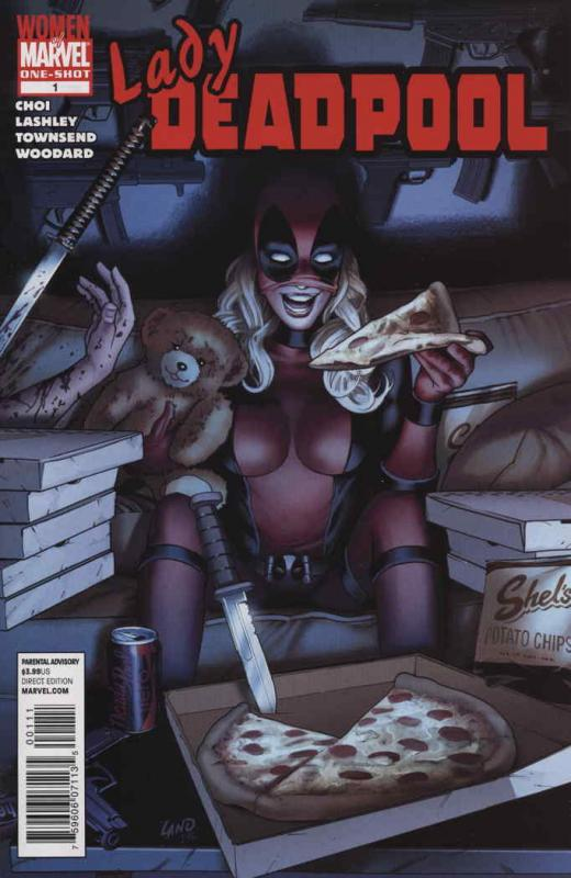 Lady Deadpool #1 VF/NM; Marvel | save on shipping - details inside