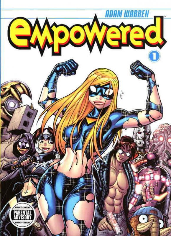 Empowered #1 (2nd) VF/NM; Dark Horse   save on shipping - details inside