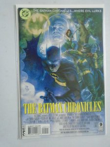 Batman Chronicles #9 Movie poster cover 8.0 VF (1997)