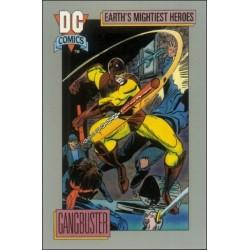 1991 DC Cosmic Cards - GANGBUSTER #51