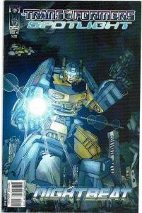 Transformers Spotlight #2 Nightbeat NM