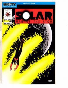 Lot Of 5 Solar Man Of The Atom Valiant Comic Books # 12 13 14 15 17 Miller J257