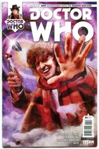 DOCTOR WHO #4 A, NM, 4th, Tardis, 2016, Titan, 1st, more DW in store, Sci-fi