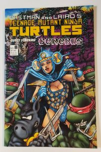 Teenage Mutant Ninja Turtles #8 Guest Starring Cerebus Eastman & Laird VF/NM