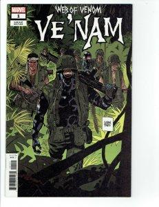 Web of Venom: Ve Nam #1 NM Parlov variant