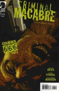 Criminal Macabre: Cell Block 666 #4 FN; Dark Horse | save on shipping - details