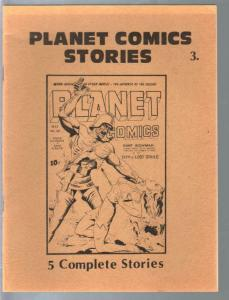 Planet Comics Stories 1970's-Al Dellinger-reprints 5 stories from Planet Comics-