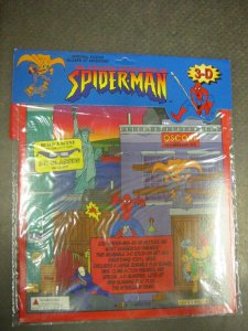 SPIDER-MAN 3-D BUILD A SCENE PLAY KIT-PLAY WERKS-1998-R VF