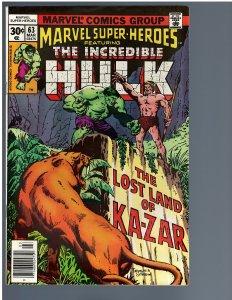 Marvel Super-Heroes #63 (1977)