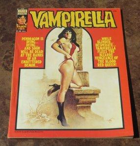 Vampirella #61 VF 1977 Sci-Fi/Horror Magazine Pendragon Dying Embittered Demon