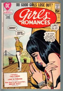 GIRLS' ROMANCES #157-D.C. ROMANCE-SILVER AGE-VG VG