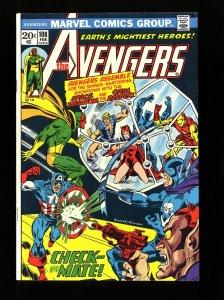 Avengers #108 VF 8.0