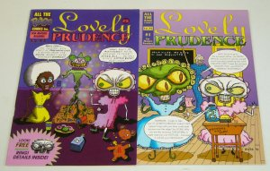 Lovely Prudence #1-2 VF/NM complete series - maze - all the rage comics set lot
