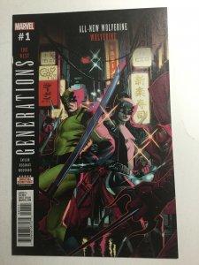 Wolverine Generations 1 Nm Near Mint Marvel Comics