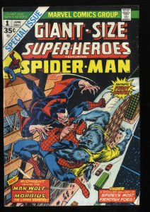 Giant-Size Super-Heroes #1 VG 4.0 Morbius!