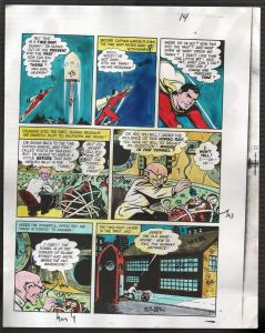 Hand Painted Color Guide-Capt Marvel-Shazam-C35-1975-DC-page 14-Mr Tawney-VG/FN