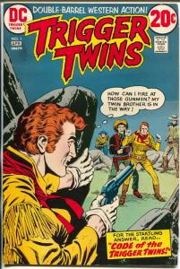Trigger Twins #1 1973-DC-1st issue-VF-