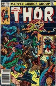 Thor #320 (1966 v1) Odin 1st Rimthursar Newsstand FN+