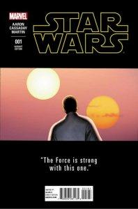 STAR WARS 001 CASADAY TEASER VARIANT COVER  NM.