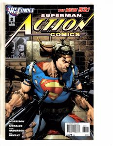 Lot Of 4 Action Comics Feat. Superman DC Comic Books New 52 # 2 3 4 5 J284