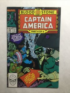 Captain America 360 Near Mint Nm First 1st Crossbones