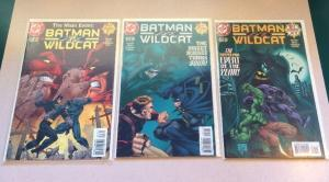 Batman Wildcat 1-3 Near Mint Lot Set Run