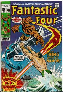 Fantastic Four #103, 3.0 or Better - Sub Mariner & Magneto App.
