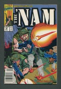 The Nam #48   /  9.0 VFN/NM /  Newsstand /  September 1990