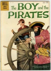 BOY & THE PIRATES (1960 DELL) F.C.1117 VG Charles Herbe
