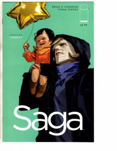 Saga # 20 NM 1st Print Image Comic Book Fiona Staples Brian K. Vaughan J237