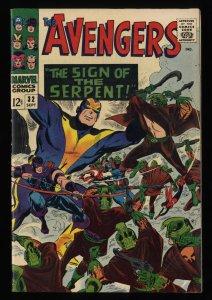 Avengers #32 FN/VF 7.0 1st Bill Foster becomes Black Goliath!
