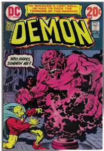 DEMON (1972) 10 VG-F July 1973