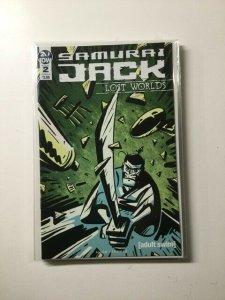 Samurai Jack Lost Worlds 2 Variant Near Mint IDW HPA