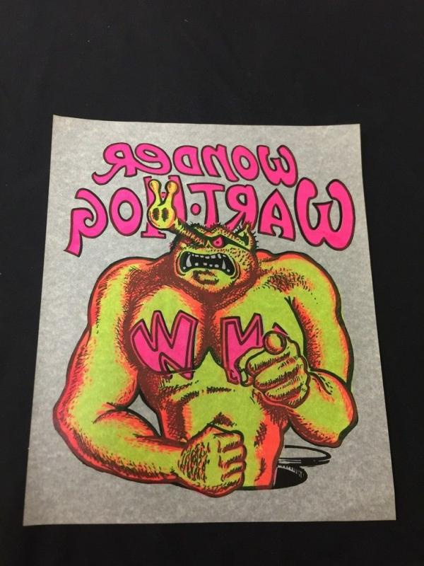 Wonder Wart-Hog Original Iron On T-Shirt Transfer Gilbert Shelton
