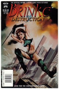 BRINKE OF DESTRUCTION #1, VFNM, High Top, Brinke Stevens, more indies in store