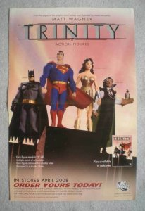TRINITY Promo Poster, Matt Wagner, 11x17, 2008, Unused, more Promos in store