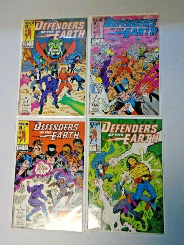 Defenders of the Earth Star Comics Set #1-4 8.5 VF+ (1987)