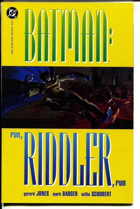 Batman: Run, Riddler, Run-#2-Gerard Jones