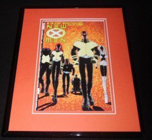 New X Men #1 Marvel Framed 11x14 Repro Cover Display