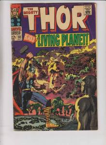 Thor #133 VG stan lee - jack kirby - ego the living planet - silver age marvel
