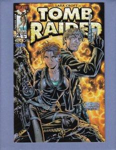 Tomb Raider #4 NM Top Cow 2000