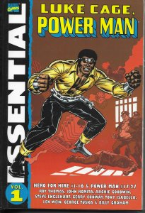 Essential Luke Cage, Power Man Volume 1 TPB