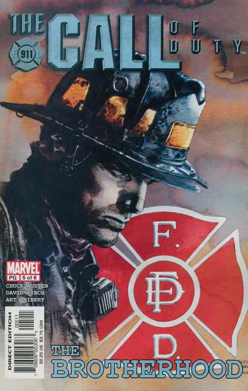 Call of Duty, The: The Brotherhood #5 VF/NM; Marvel | save on shipping - details