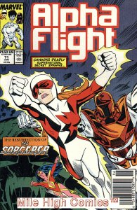 ALPHA FLIGHT (1983 Series)  #71 NEWSSTAND Very Fine Comics Book