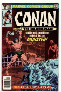 Conan The Barbarian #119 (Marvel, 1981) FN-