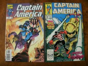 2 MARVEL Comic Book: CAPTAIN AMERICA #7 (1998) & #339 (1988)