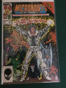 The Micronauts : The New Voyages #16 Secret Wars 2 tie in