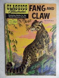 Classics Illustrated #123 (1954) HRN 124