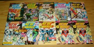 New Wave #1-13 VF/NM complete series + error variant + volunteers #1-2 w/glasses