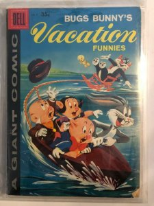 BUGS BUNNY VACATION FUNNIES #9 1959 DELL / A GIANT COMIC / FN/+